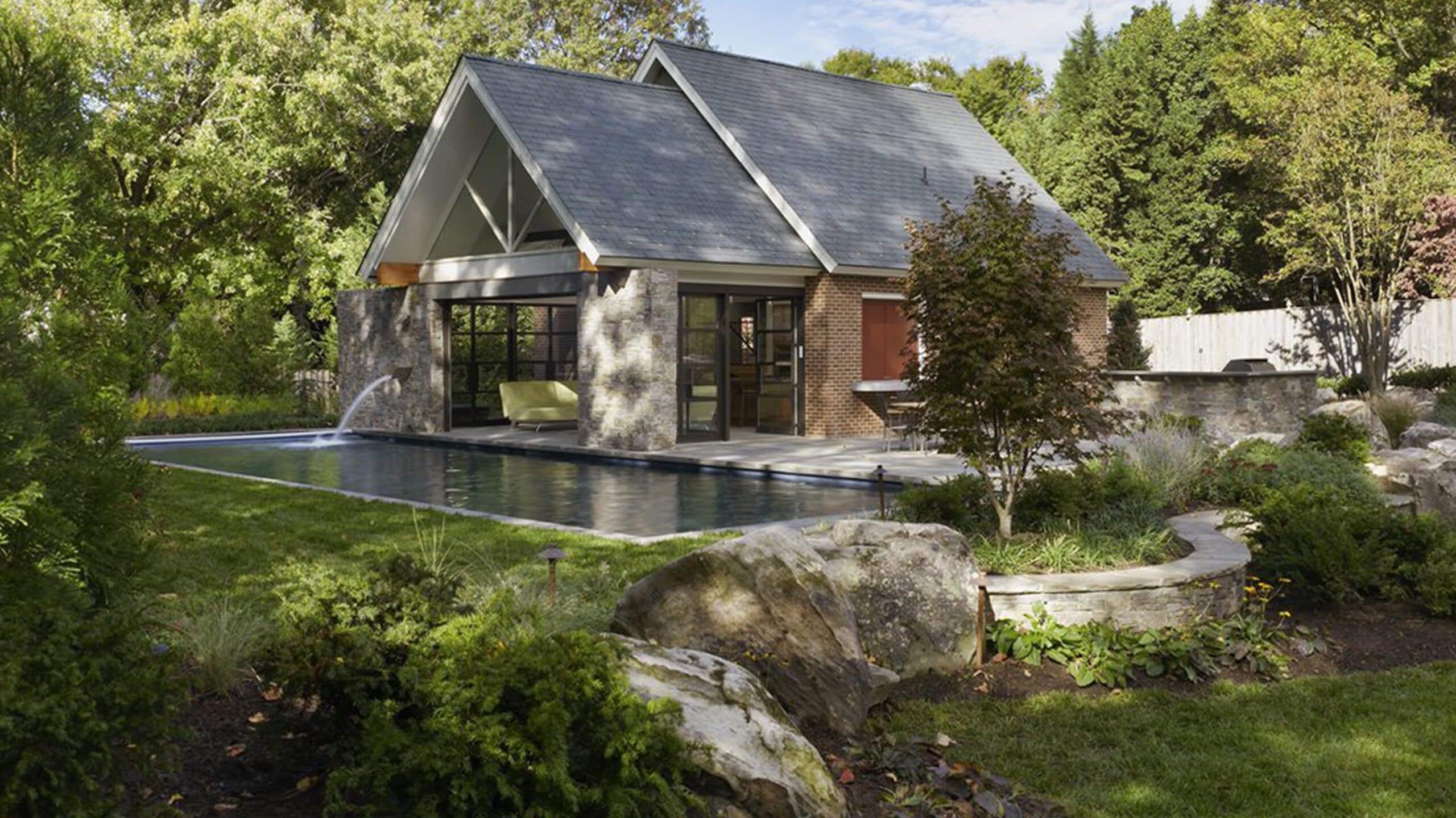 Crittall Peardon Pool House – Vapeardon Pool House – Va Image