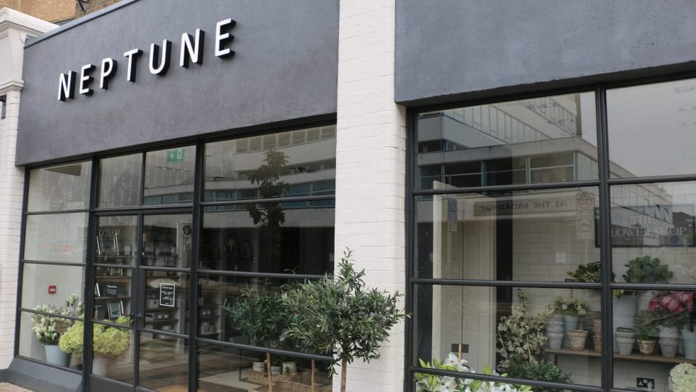 Crittall Windows Used For Neptune Store Image
